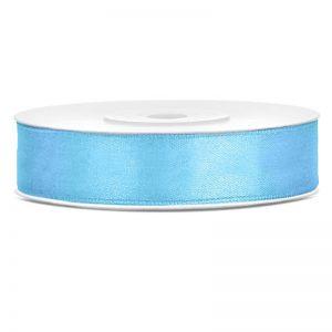 Sidenband 12mm x 25meter Ljusblå